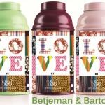 Biberon-boite à thé, fabrication spéciale Saint-Valentin de Betjeman & Barton