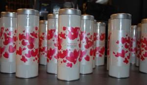 Boîtes de thé Amore de chez Damman Frères
