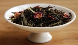 Feuilles de thé de Attrape coeur, créé spécialement pour la Saint-Valentin, chez L'Autre thé