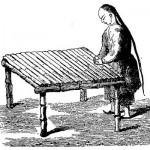 Appareil de roulage de feuilles de thé Illustration extraite