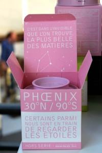 Perseus et la Petite Packaging du thé Phoenix, de la collection Regard sur les étoiles.