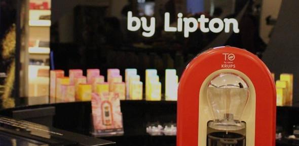 Stand T.O by Lipton au BHV