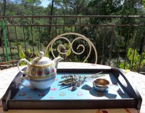 Elisabeth Boutevin Koskas : Oolong lavande, un après midi d'automne en Provence.