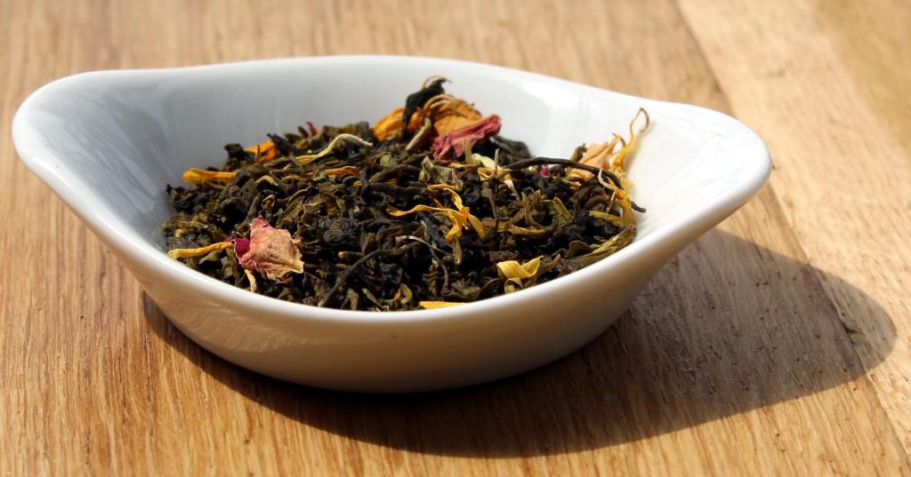 Feuilles du thé Jambo Paris de chez Cape and Cape