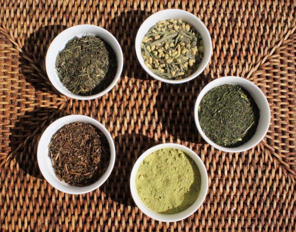 Dégustation de thés japonais