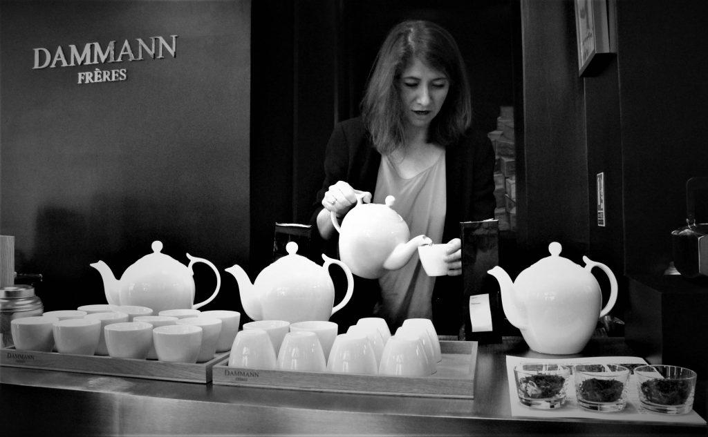 Marie, Sonié, acheteuse thés Japon et Chine pour Dammann Frères