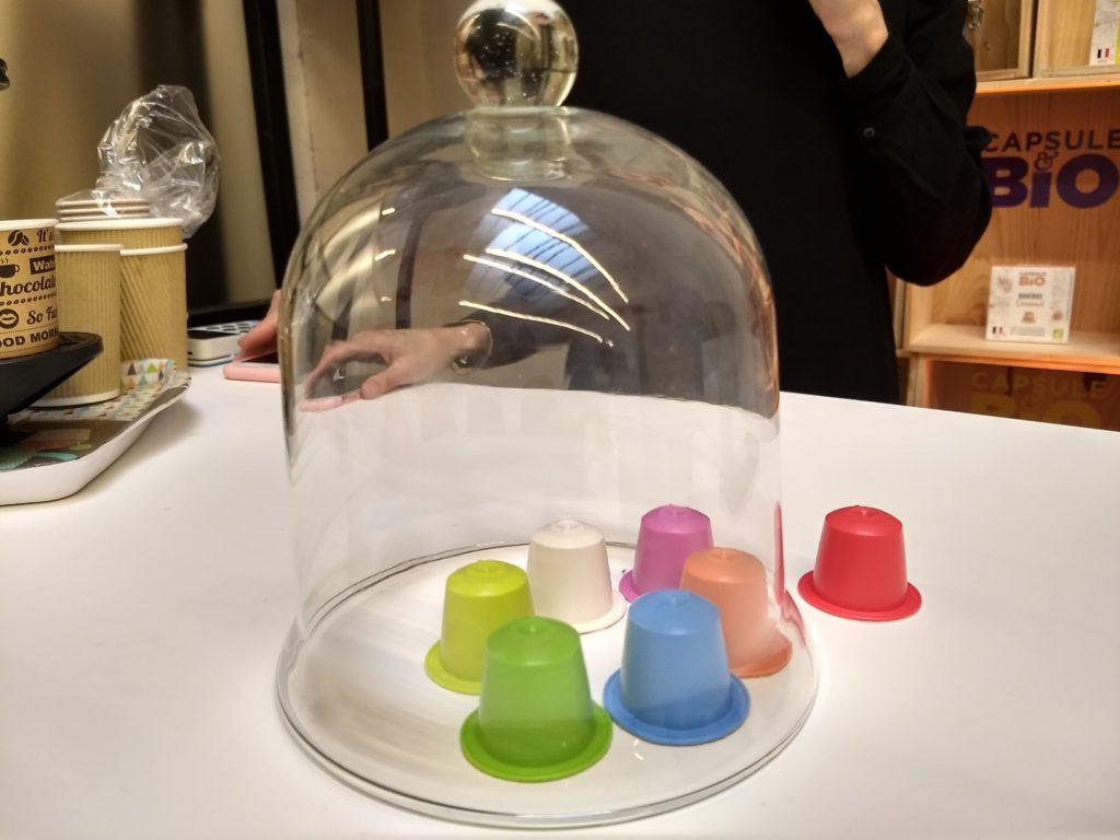 Les capsule biodégradables et compostables