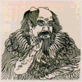 Portrait de Shen Nong emprunté à Wikipédia