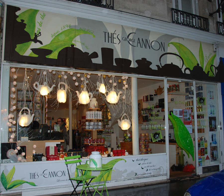 Façade du magasin George Cannon
