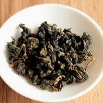 Le thé bleu vert : le oolong