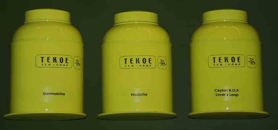 Boites de thés de la boutique Tekoe Gare de Lyon