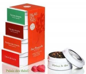 Coffret Saint-Valentin Thé des amants du Palais des thés