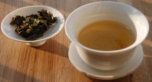 Tekoe,  thé Les amants du Pont Neuf infusé avec feuilles
