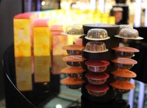 Packaging des boîtes de 10 capsules de la machine T.O by Lipton