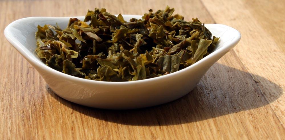 Feuilles du thé Jambo Paris infusées, de chez Cape and Cape