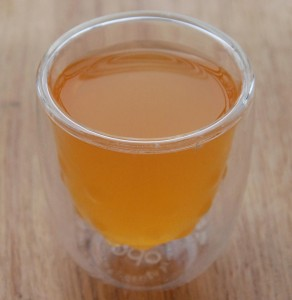 Thé vert aux baies de goji de chez Mangajo