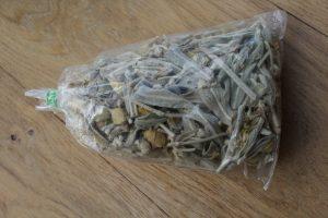 Sachet de Mountain tea grec acheté à Athènes