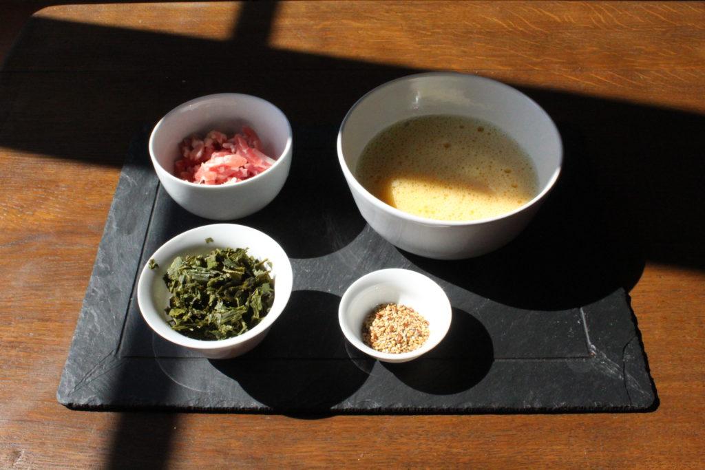 Image DiviniThé pour la recette de l'omelette au thé vert
