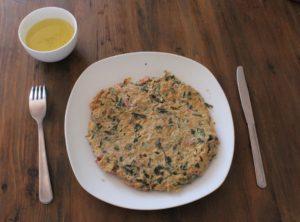 Image DiviniThé : Omelette au thé vert prête à être dégustée !