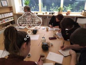 L'Atelier thé et écriture