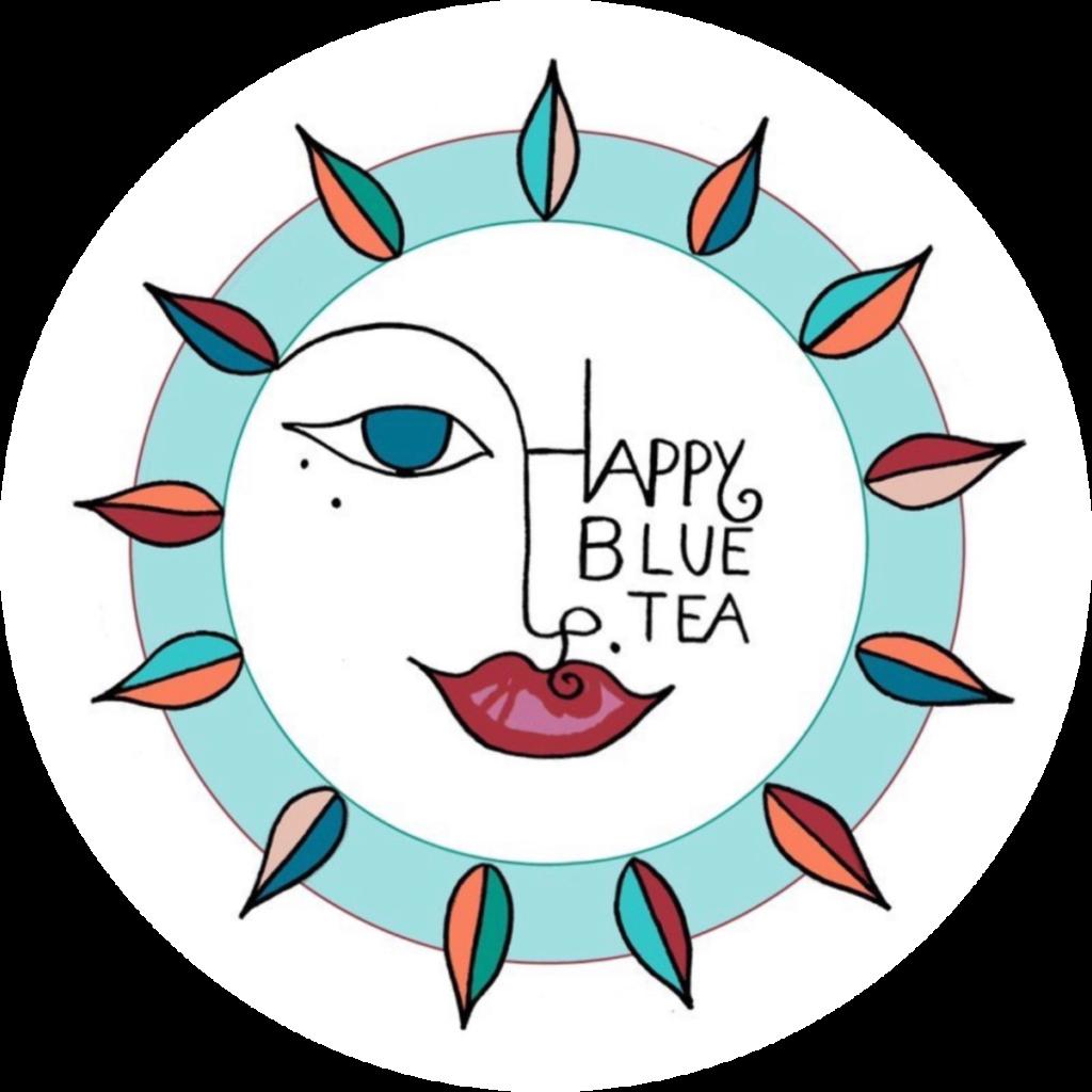 Logo Happy blue tea