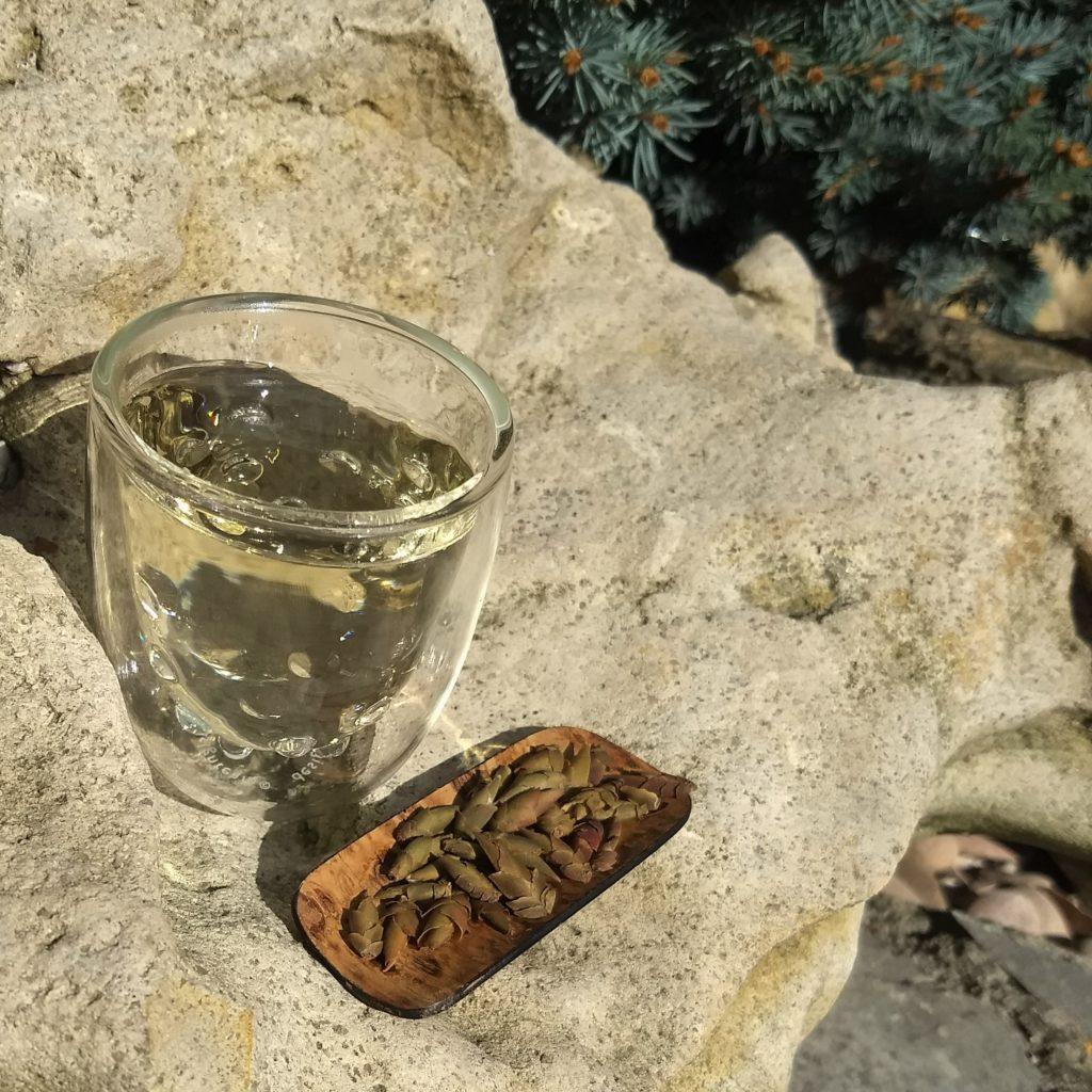 Image du thé &cailles de  dragon de chez Happy Blue Tea